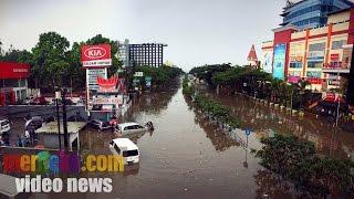 video banjir di pasteur mirip sungai bikin mobil terseret