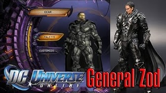 DCU Online General Zod Man Of Steel Tutorial