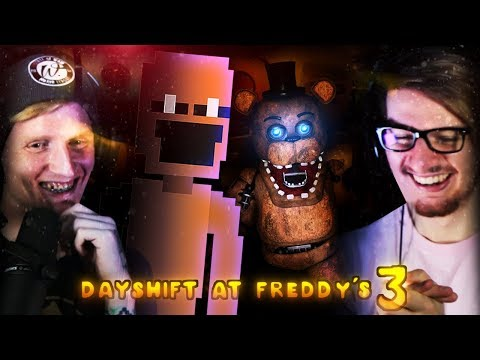 AUBERGINE MAN IS BACK! | Dayshift At Freddy's 3 (Part 1)