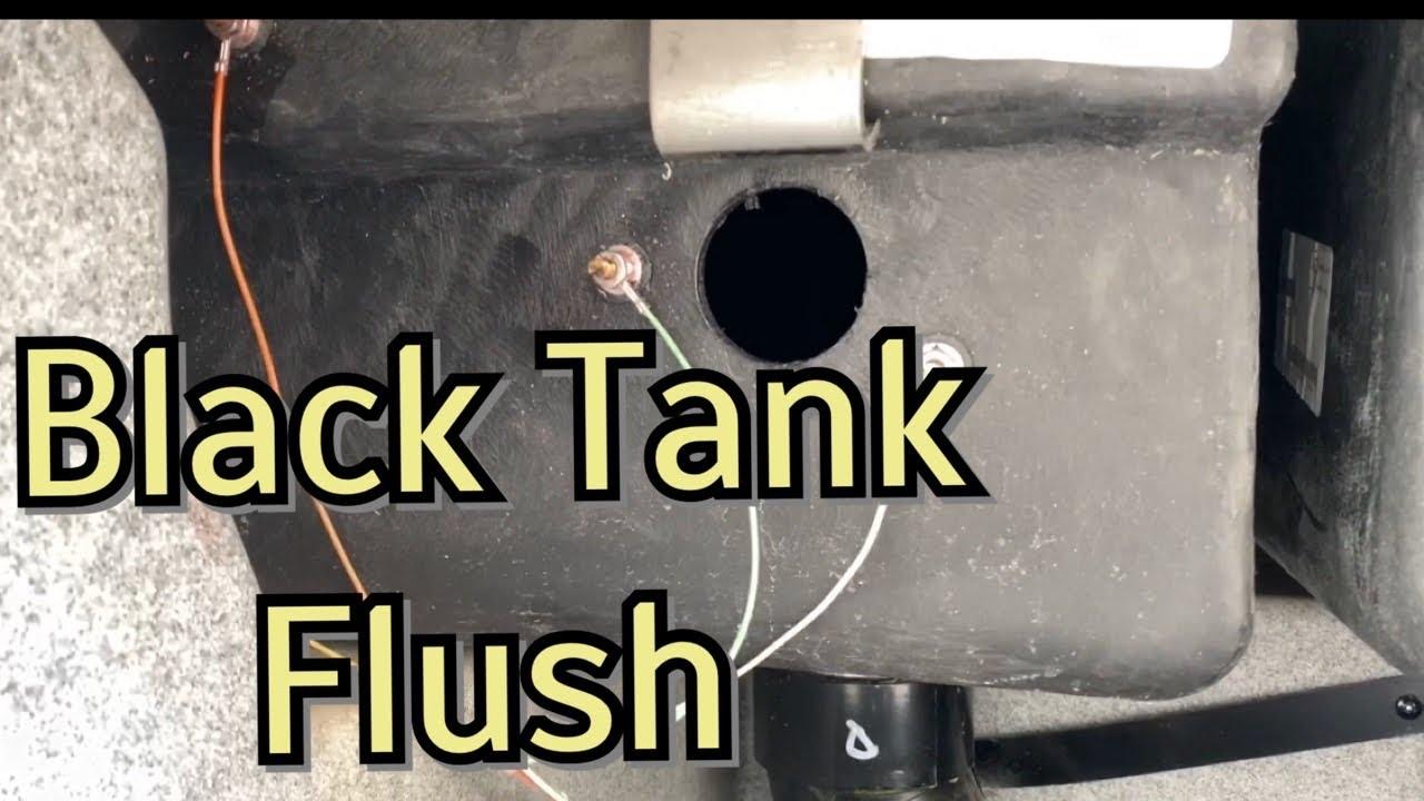 Rv Black Tank Flush Installation Camco Tornado Flusher Install Youtube