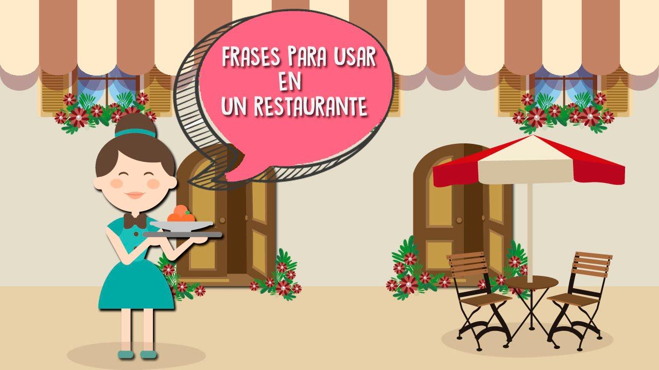 Frases Para Personas Serias: Aprende En Inglés Frases Para Usar En Un Restaurante