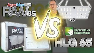 Eddie Reviews: AgroMax Raw 65 vs HLG 65 - LED Grow Lights - Samsung Quantum Board - Unboxing