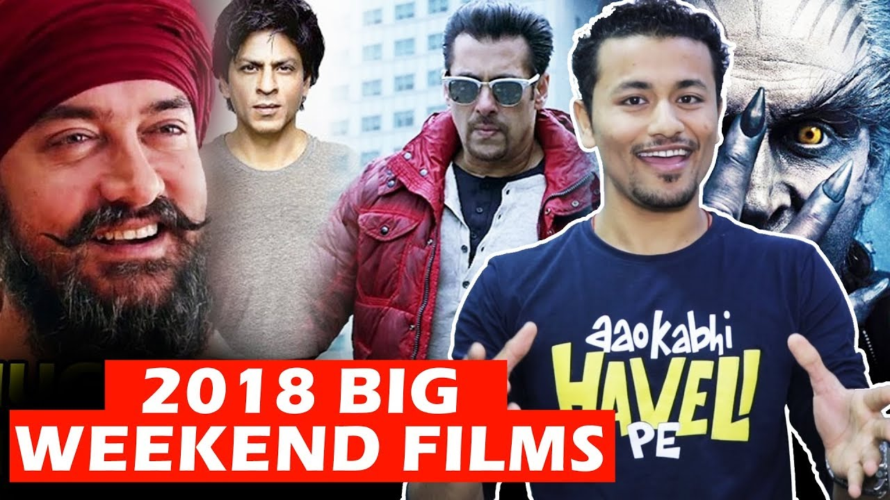 2018 Big Weekend Movie Releases – Race 3, Robot 2, Thugs Of Hindostan, Dwarf