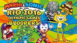 Mario and Sonic at the Rio 2016 Olympic Games Bloopers