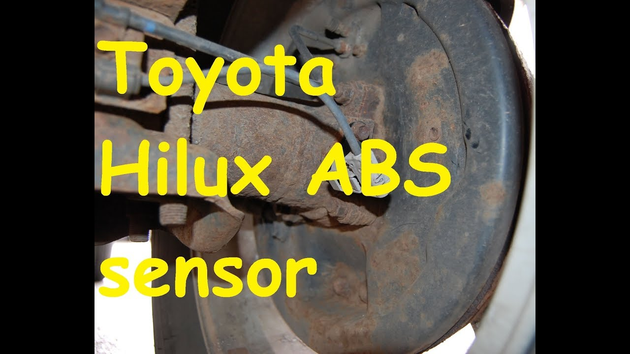 Toyota Hilux ABS Problems / Toyota Hi lux ABS Sensor inside
