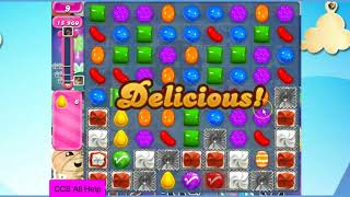 Candy Crush Saga Level 1412 30 moves NO BOOSTERS Cookie