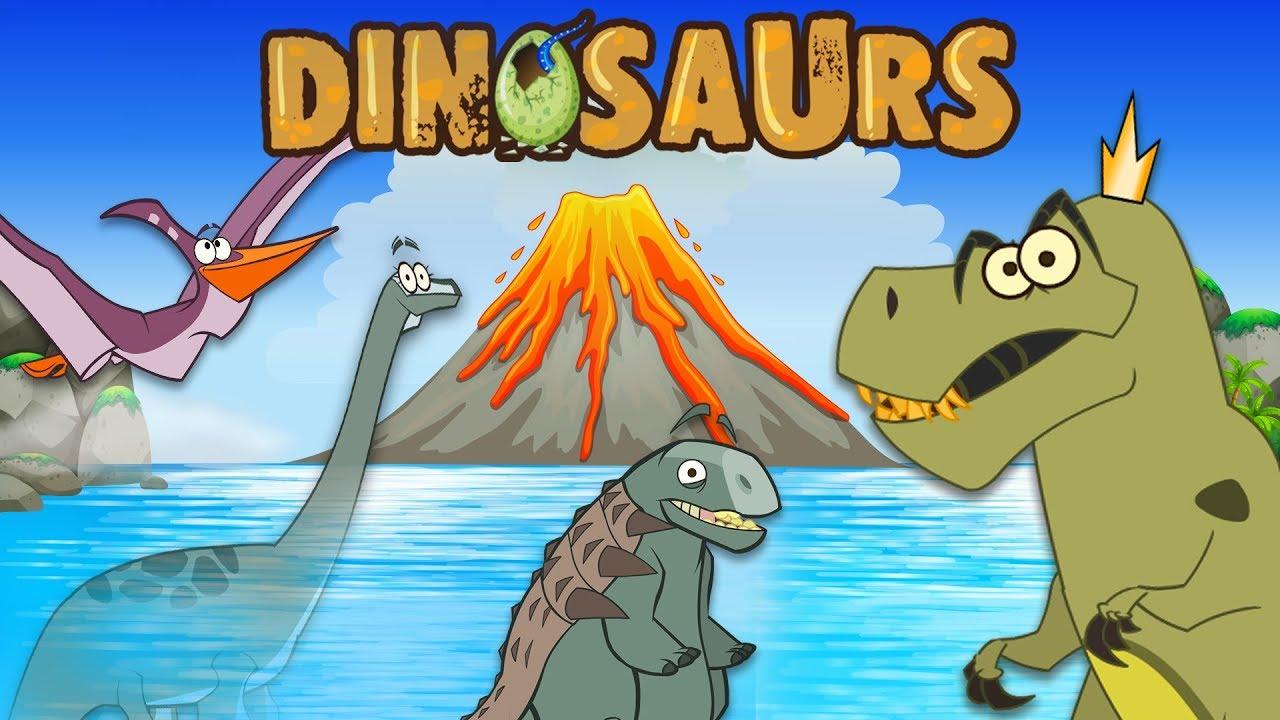 The Good Dinosaurs | Funny Dinosaur Cartoons for Kids | Learn Dinosaur Facts | I'm A Dinosaur!