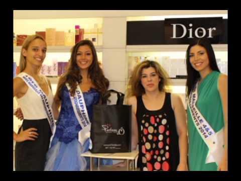 La Miss Marseille 4/5 et ses 2 Dauphines