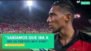 Christofer Gonzales habló del triunfo de Perú 1-0 Brasil | POST PARTIDO