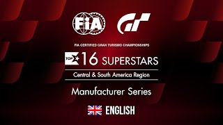 [English] FIA GTC 2019 Series | Manufacturer Series Top 16 Rd.20 | Central & South America
