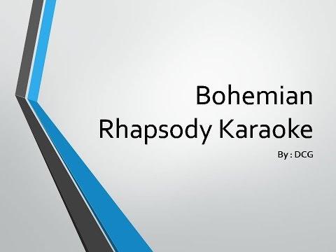 Bohemian Rhapsody Karaoke Instrumental - DCG