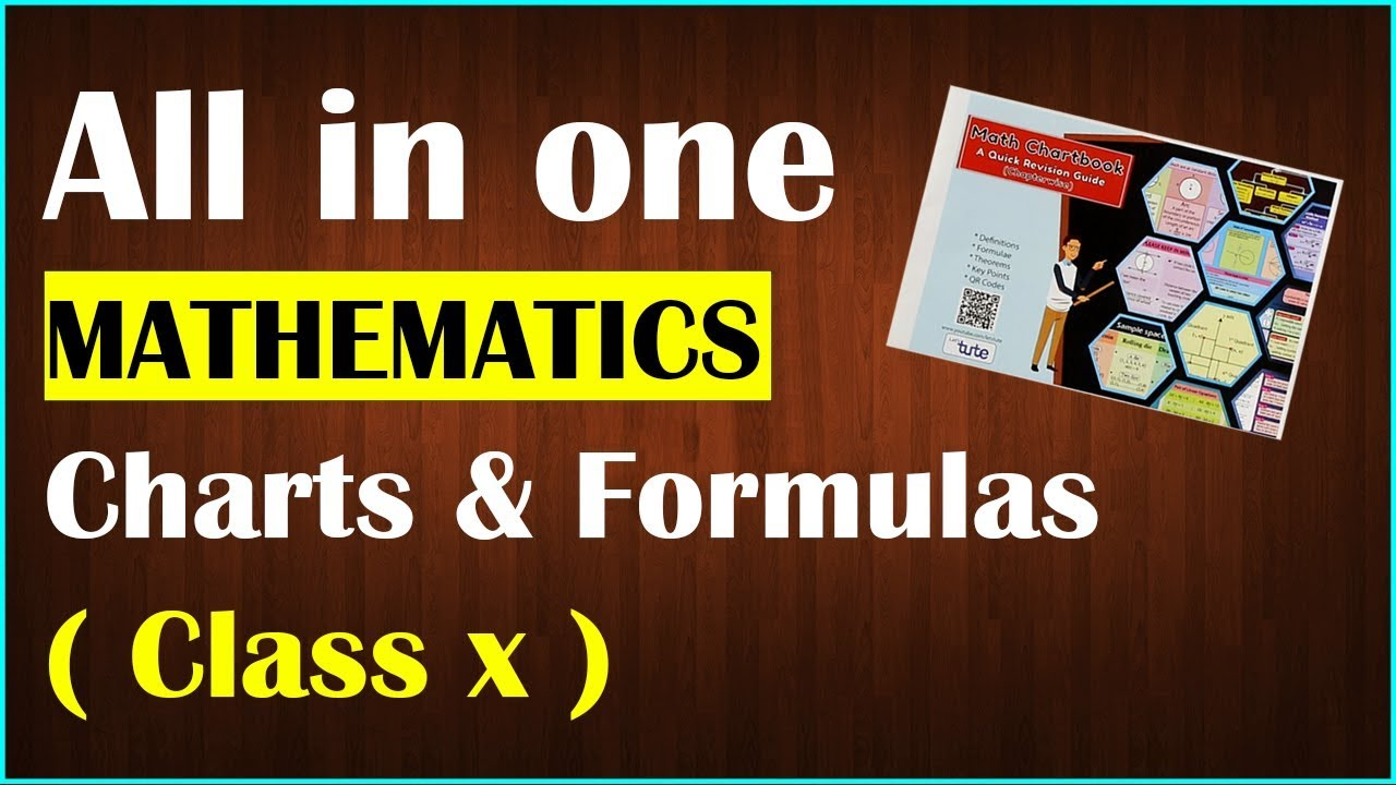 All in One Mathematics Charts & Formula For Class 10th | Quick Revision  Guide | LetsTute