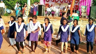 Desia dance by the Students of Chitrakonda Girls HS