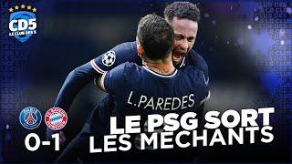 Paris SG vs Bayern Munich (0-1) LIGUE DES CHAMPIONS - Débrief #872  - #CD5
