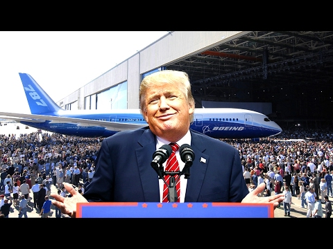 FULL: President Donald Trump Speech on Boeing 787 Dreamliner Aircraft Unveiling HD 2/17/17