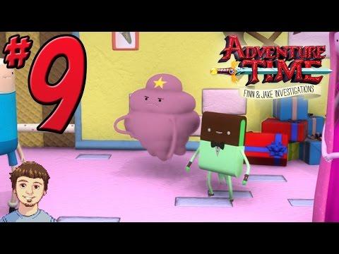 Adventure Time: Finn & Jake Investigations Walkthrough - PART 9 - LSP's Three Noble Deeds