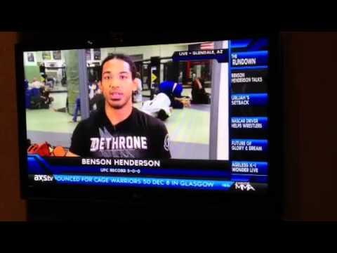 Ben Henderson vs. Daniel Madrid MMA Live