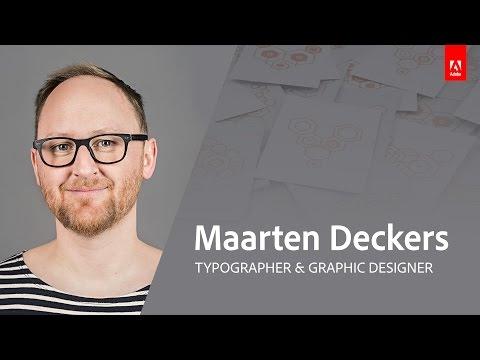 Graphic Design with Maarten Deckers - Book Cover Design