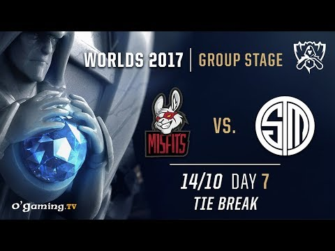 Misfits vs TSM - World Championship 2017 - Group Stage - Day 7 - Tie Break - League of Legends