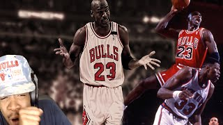 Greatest Sports Moment Ever!! Michael Jordan Top 10 Dunks & Plays Reaction!