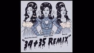 Ariana Grande 34 35 Remix Feat Doja Cat And Megan Thee Stallion