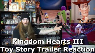 Kingdom Hearts III – D23 2017 Toy Story Trailer Reaction - AlphaOmegaSin