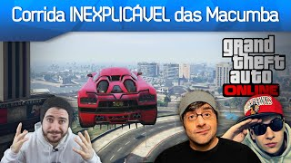 Corrida das Macumba no GTA V Online com OS BRÓDI Drezzy e Made