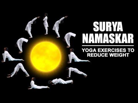 yoga exercises to reduce weight  surya namaskar steps