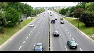 Cars passing by sound effect