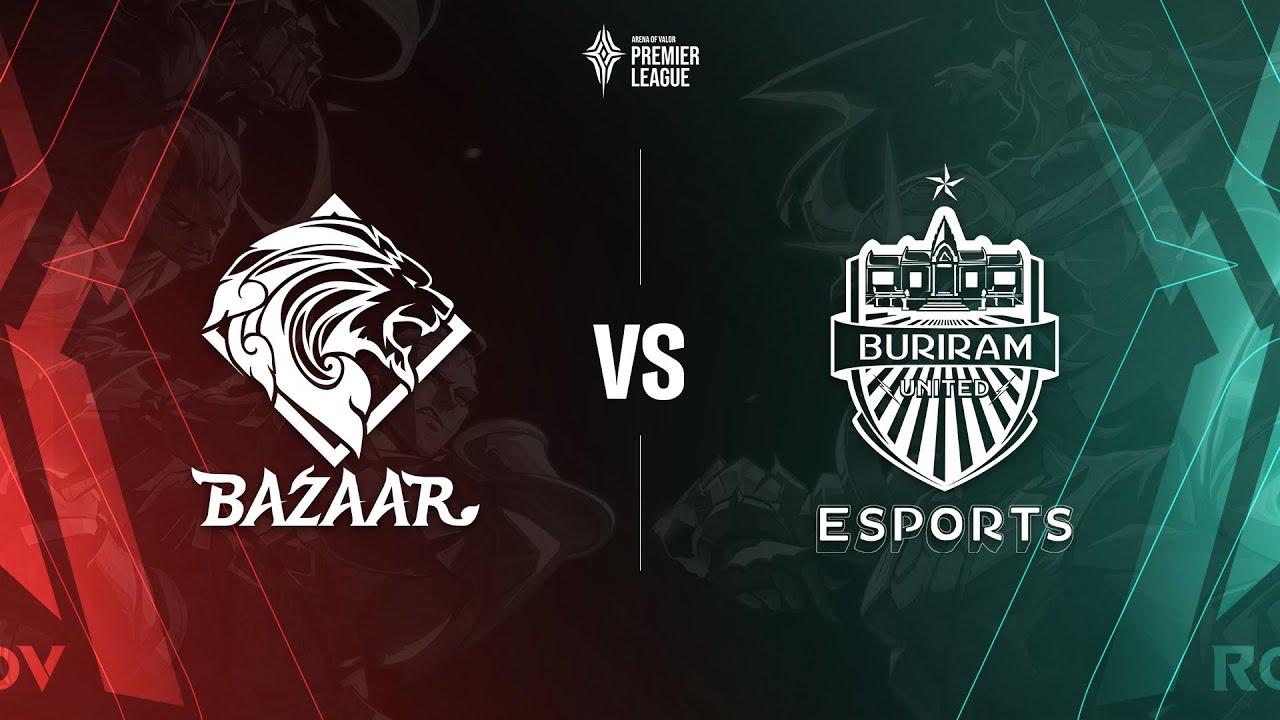 Bazaar Gaming vs Buriram United Esports [Bảng B - 04.07.2020] - APL 2020