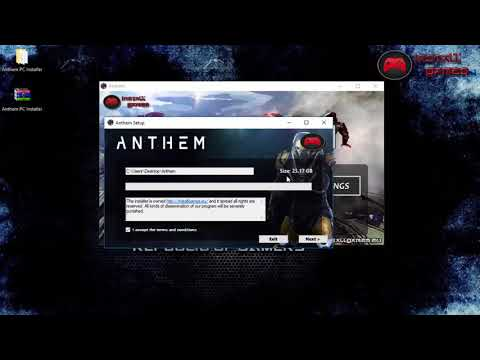 Anthem Download Installer Games