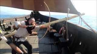 Shooting an Arrow From the Gokstad Ship! - Stephen Fox - UCD School of Archaeology