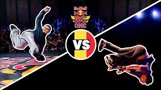 Red Bull BC One Cypher Belgium  2019 | Semifinal B-Boys: Simon vs. Sambo