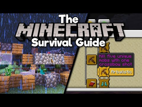 advanced-crossbow-techniques!-▫-the-minecraft-survival-guide-(tutorial-lets-play)-[part-156]