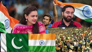INDIA WINNING WORLD CUP FINAL 2011 PAKISTAN REACTION HIGHLIGHTS