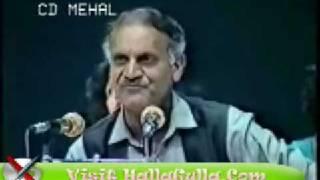 Anwar Masood - Iss Kay Sabab Hai Yeh Mulaqaat e Dostaan.wmv