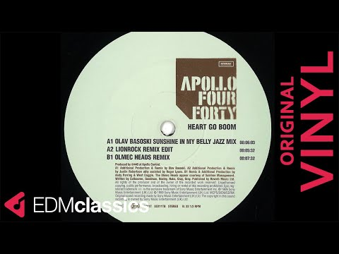 Apollo Four Forty - Heart Go Boom (Olav Basoski Sunshine In My Belly Jazz Mix) (1999)