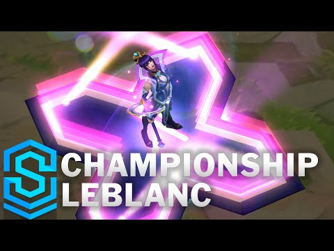 Championship LeBlanc Skin Spotlight - Pre-Release - League of Legends