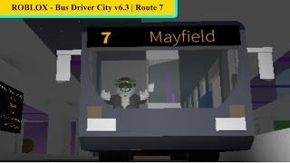 ROBLOX - Busfahrer City v6.3 | Route 7