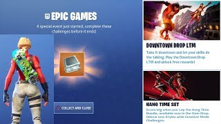 *NEW* FREE Dropdown Challenges In Fortnite Battle Royale