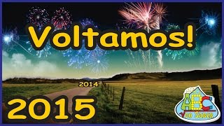 Gambar cover ABC do Saber voltou, feliz 2015!