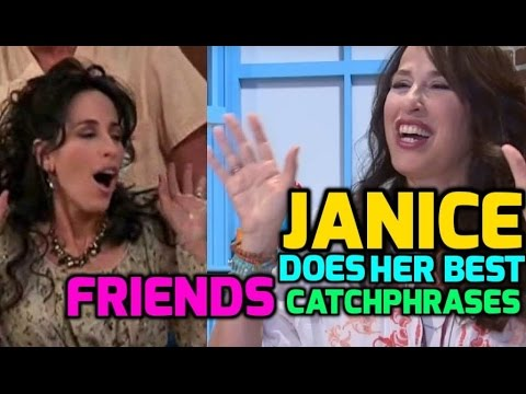 Oh My God: Friends' Maggie Wheeler teaches us Janice's famous catchphrase