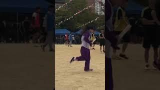 전남중 체육대회_서지민 계주 뛰는 데 신발 벗겨짐..ㅠ