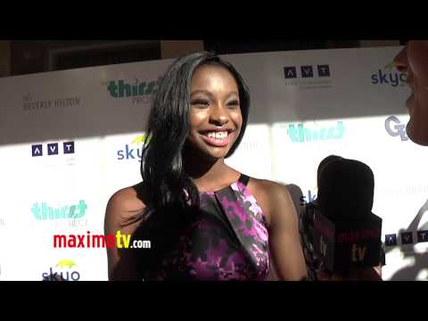 Coco Jones Interview 4th Annual THIRST Gala Red Carpet ARRIVALS