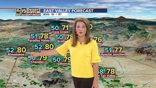 Windy conditions still expected Friday in the Valley