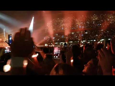 Coldplay Fix You (part) Cardiff Principality Stadium 11th July 2017