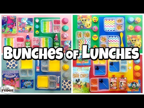 BACK TO SCHOOL Lunch Ideas For Kids + HOT Lunches 🍎 Bunches Of Lunches