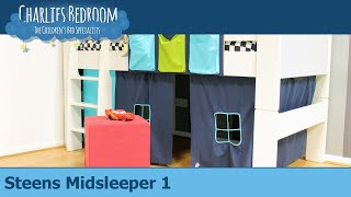 Steens Midsleeper 1 - Charlies Bedroom