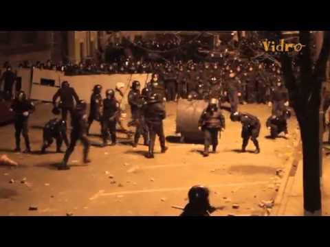 Украина - Штурм Администрации президента. Массовые беспорядки!!!
