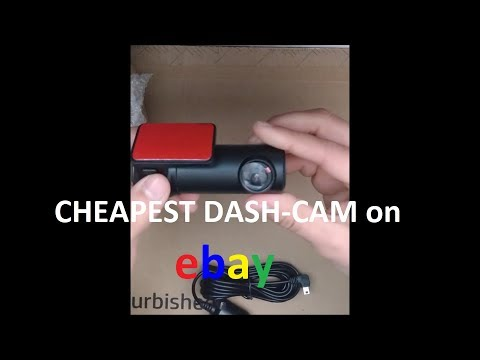 Buying The Cheapest Dash Cam Off EBay - Review & Install